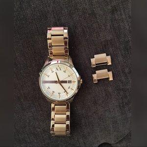 Armani Exchange Gold Men's Watch